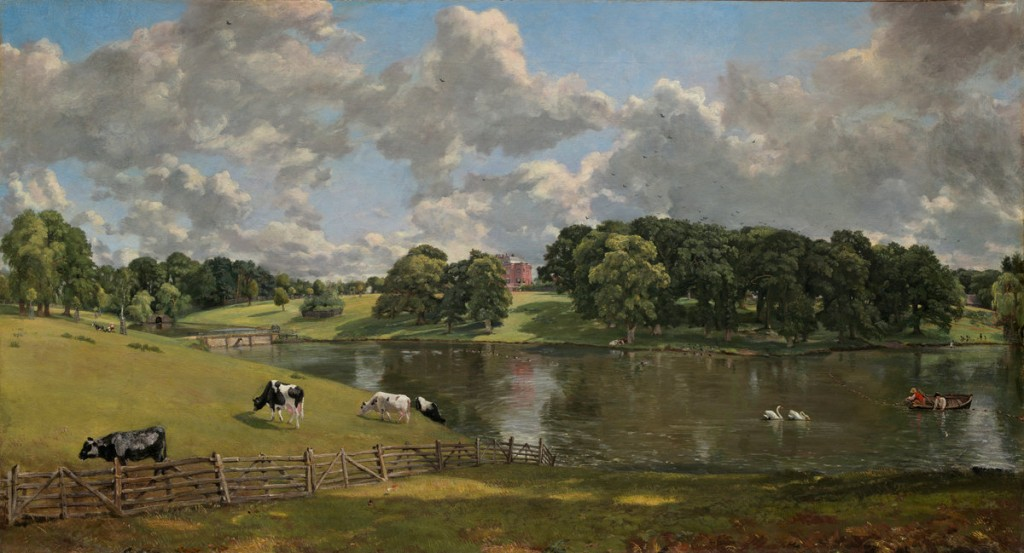 John Constable (British, 1776 - 1837 ), Wivenhoe Park, Essex, 1816, oil on canvas, Widener Collection
